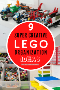 Lego Organization and storage ideas