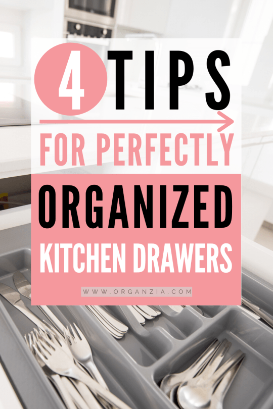 How to have perfectly organized kitchen drawers