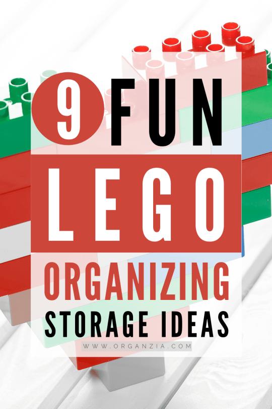 Lego Organization and storage