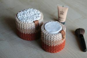 Crochet Bathroom Organizers set of 2