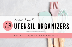 Kitchen drawer organizers - 13 smart products