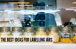 Best kitchen jar label ideas