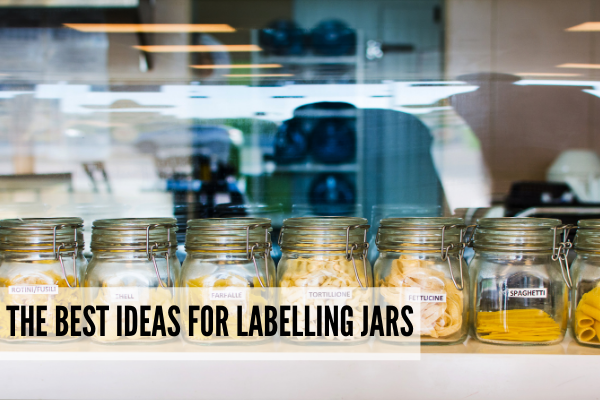Best kitchen jar labels