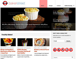 Bakerstreet.tv a baking blog