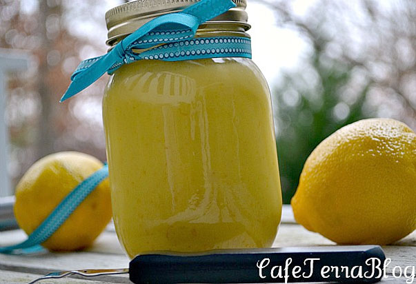 No Fail Lemon Curd by Cafe Terra Blog