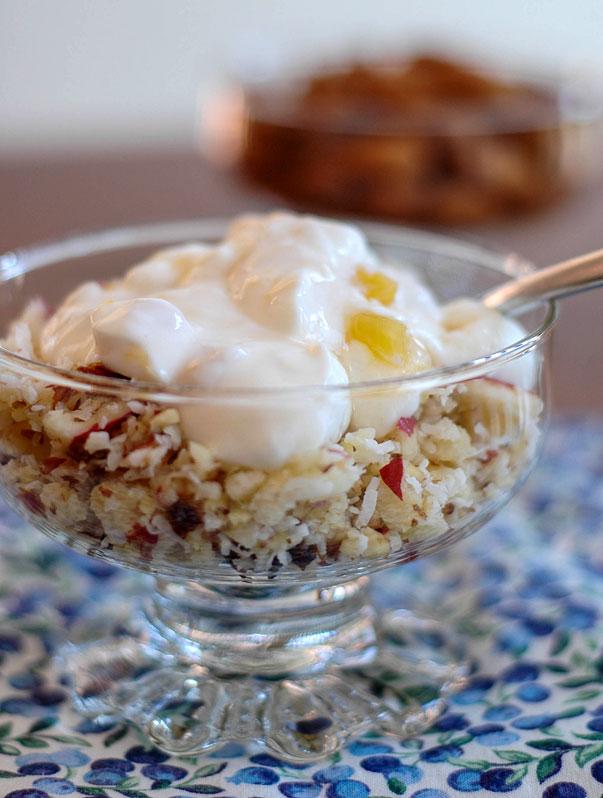 CADA with Chobani Yoghurt on top