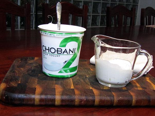 Chobani Plain Yogurt