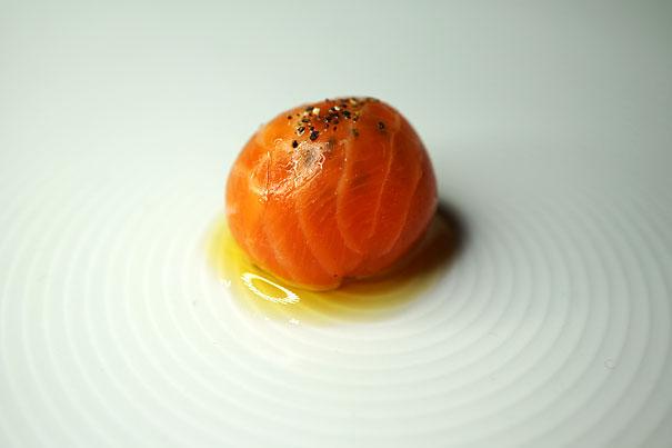 Bon Bon of Petuna Ocean Trout by Tetsuya Wakuda