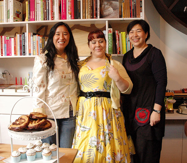 May King Tsang, Danielle Dixon and Julie Tjiandra