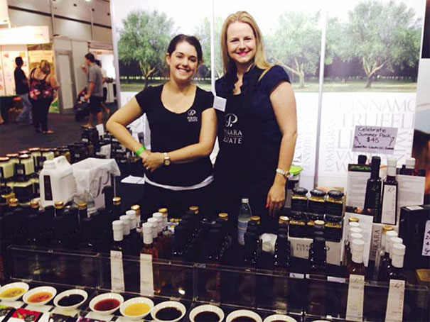 Renee Johnston and Angie Sceats from Pukara Estate