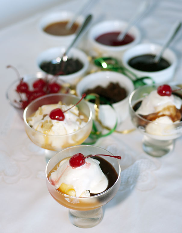 Dinner Party Sundaes