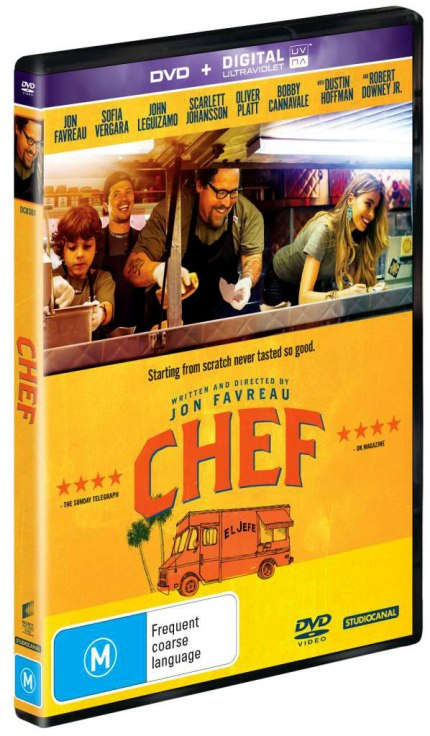 Chef coming out on DVD on September 4th