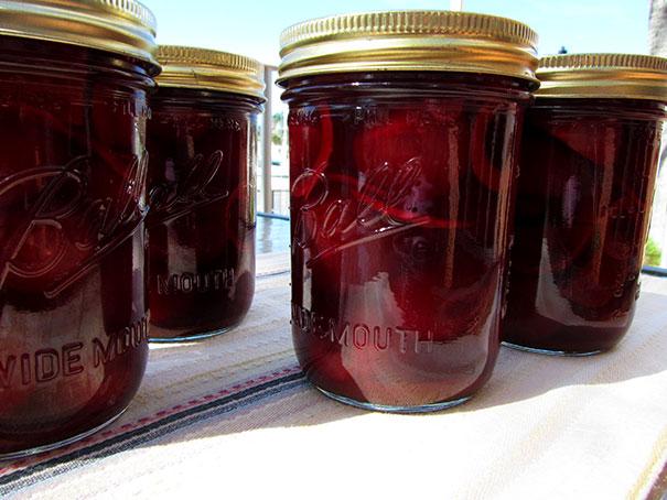 pickledbeets or pickled beetroot