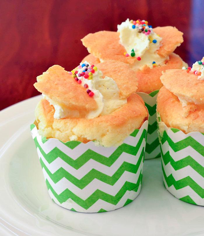 Vanilla Butterfly Cupcakes