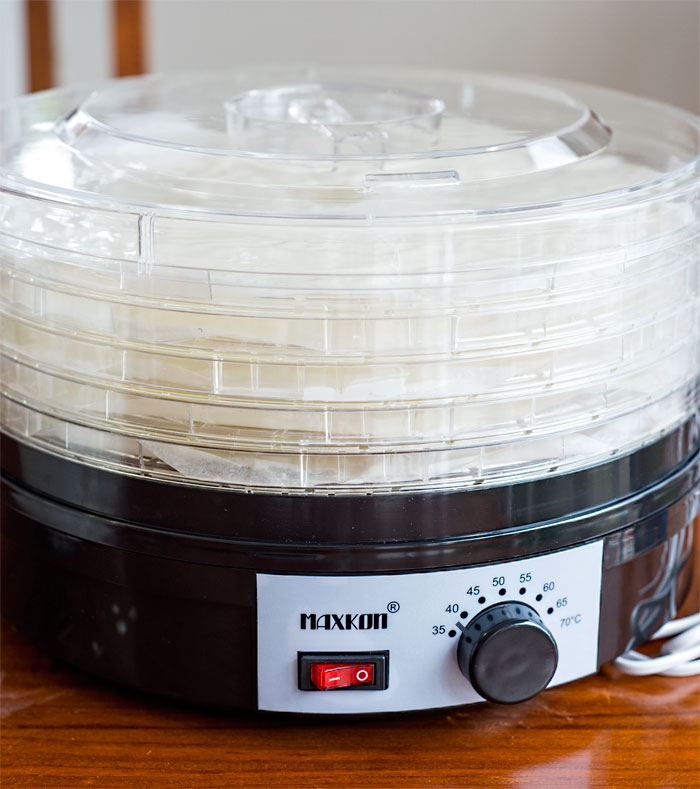 Dehydrating Sourdough Starter
