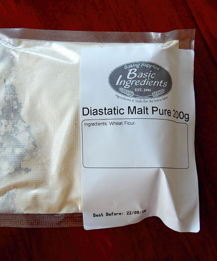 Diastatic Malt