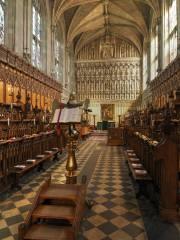 Oxford, Magdalen College Chapel, Continuo Organ – de Orgelsite |  orgelsite.nl