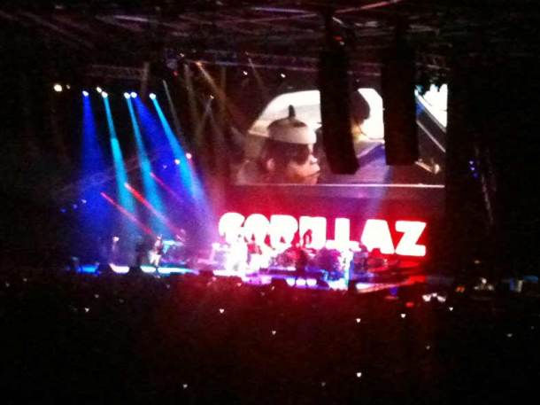 Gorillaz live: Video, Musik, Magie