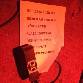 Setlist Dorau bei tapete Records im Knust