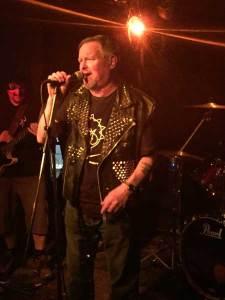 Paul Halford aka Johnny Moped live in Hamburg