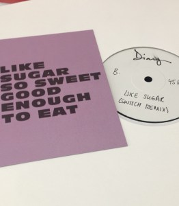 "Chaka Khan Like Sugar 12"" Record"