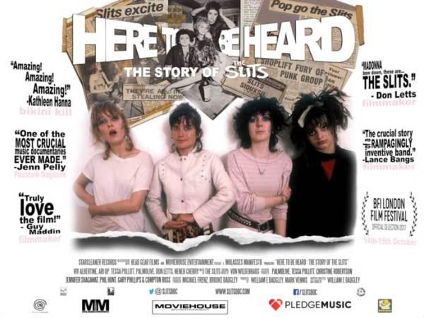 The Slits Here to be heard Film