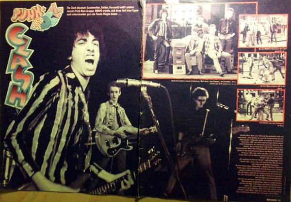 The Clash in der Bravo