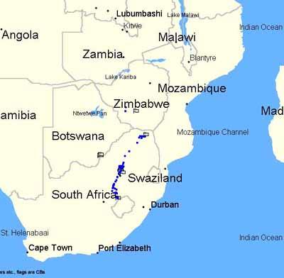 South Africas stanu orgonite quo koniec 2002 r.