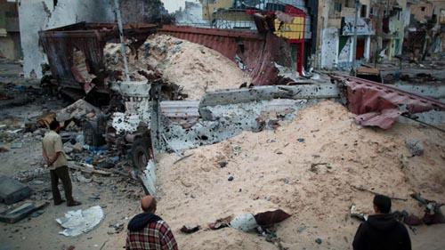massacre of cibbilians in tripoli - courtesy to NATO