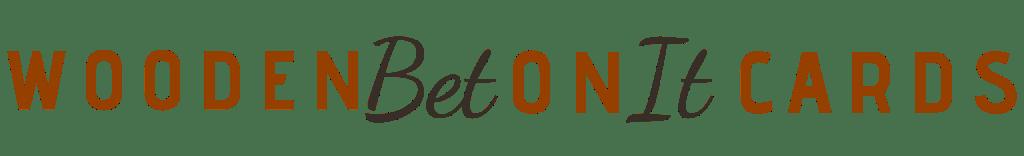 WoodenBetOnit Cards Logo