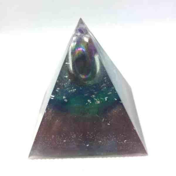 Careless Memories Orgone Orgonite Pyramid 6cm 1
