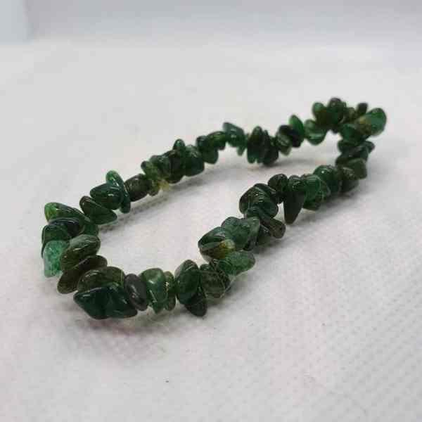 Green Adventurine Chip Bracelet