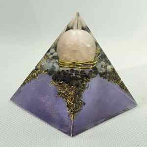 Reflections of Another Time Orgone Orgonite Pyramid 6cm
