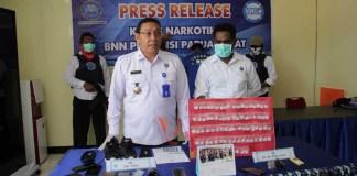 Ungkap Pengedar Shabu di Sorong, BNN PB Klaim Selamatkan 780 Jiwa