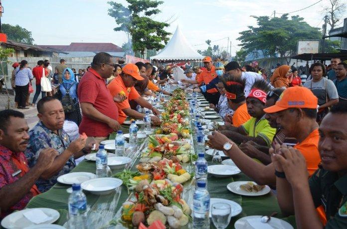 Pemda Biak Sajikan 7 Ton Ikan Pada Pesona Kuliner Gratis FBMW VII