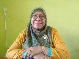 Ketua STKIP Muhammadiyah Manokwari, Hawa Hasan, S.Sos.,M.Pd