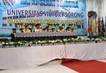 Gubernur Harap Sarjana Universitas Victory Mampu Berkompetisi dengan Tenaga Kerja Asing