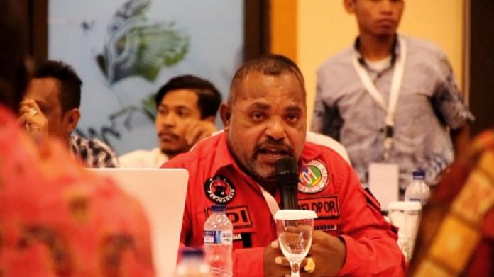 Anggota DPR RI asal Dapil Papua Barat, Jimmy Demianus Ijie