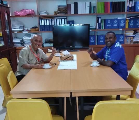 Tanyakan Tes CPNS Papua Barat, Senator Yance Samonsabra Bertemu Asisten Menpan RB