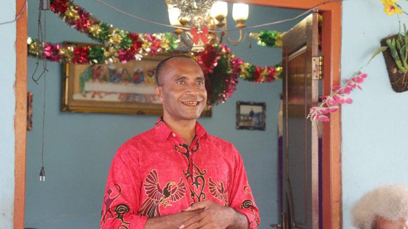 Panglima Parjal Papua Barat, Ronald Mambiew