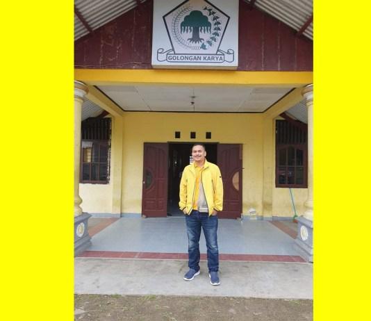 Ketua umum Angkatan Muda Partai Golkar (AMPG) Papua Barat, Haryono May
