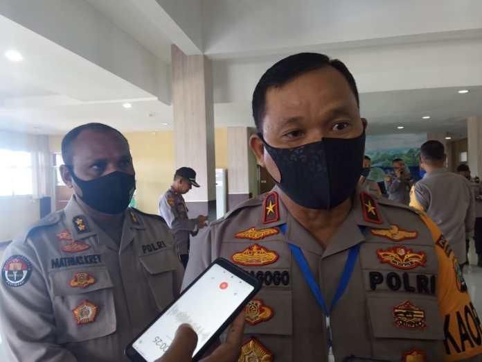 Kapolda Papua Barat, Brigjen Pol Tornagogo Sihombing. Foto: EN/ON