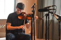 Dónal McCague 'Slieve Beagh Music Mss' performance 2016