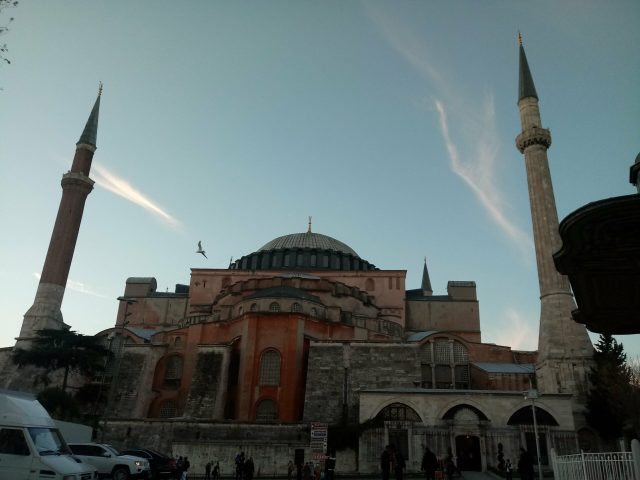 Is Turkey Asia or European in orienteering? (Pictured: Hagia Sofia in Istanbul)