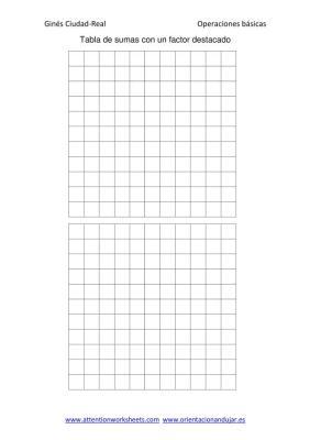 Tabla de sumas con un factor destacado en imagen_7