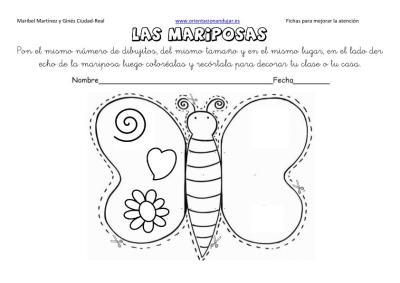 lateralidad y recortar mariposas 4