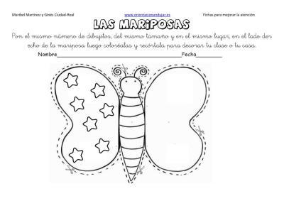 lateralidad y recortar mariposas 12
