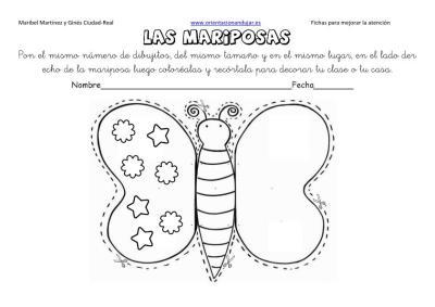 lateralidad y recortar mariposas 14