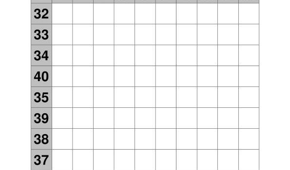 coleccion de ejercicios de tablas de sumas rango 31-40 IMAGEN4
