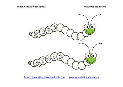 Orugas matemáticas series NUMÉRICAS IMAGENES_06